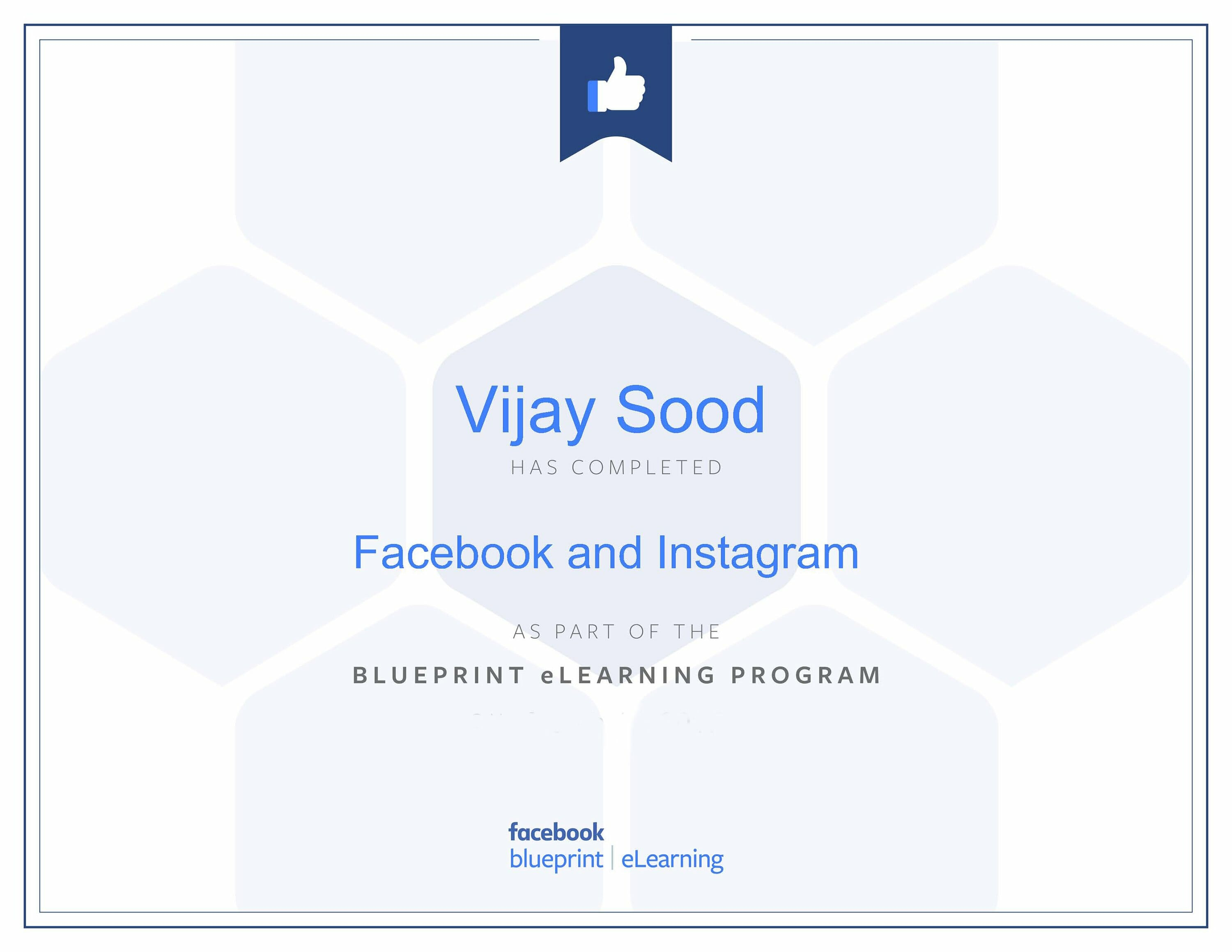 Facebook blueprint Vijay Sood SwiftPropel