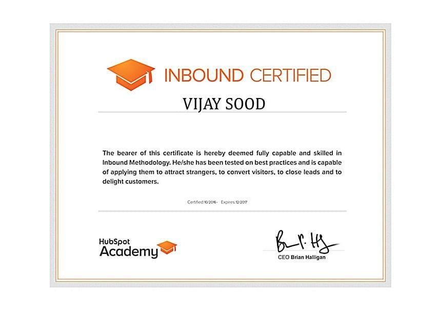 Hubspot Inbound Vijay Sood SwiftPropel