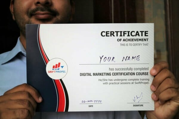 Digital Marketing Certificate SwiftPropel