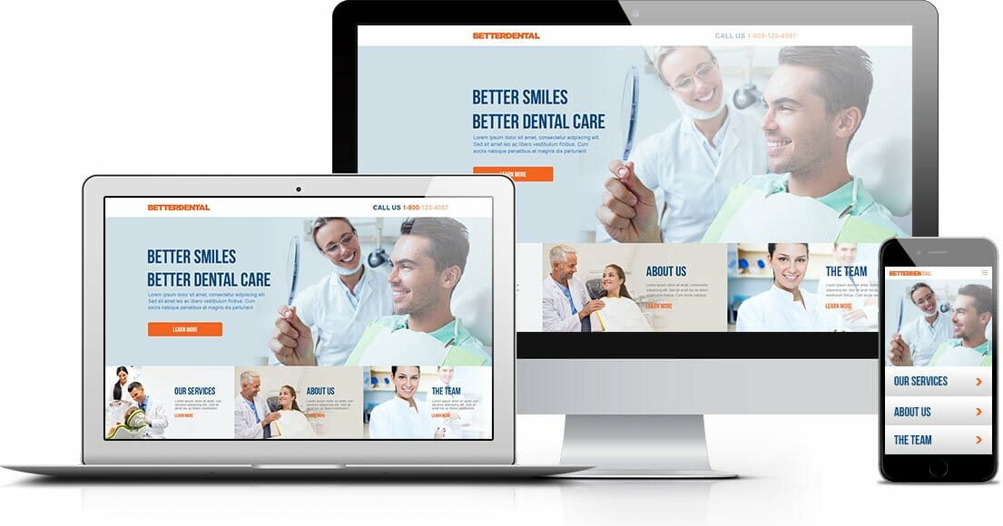 dental website creation