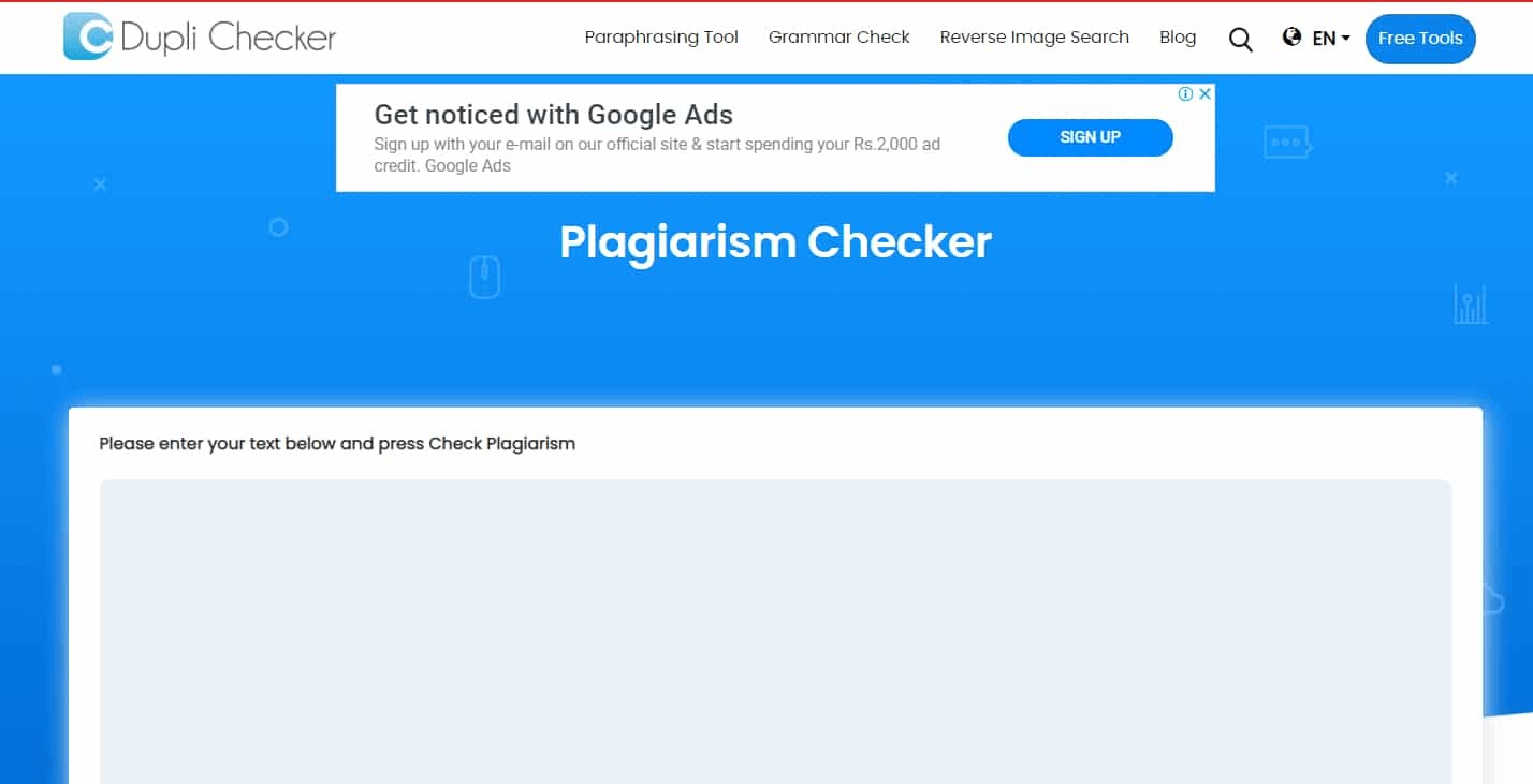 Plagiarism checkers
